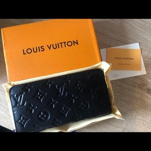 Black LV wallet